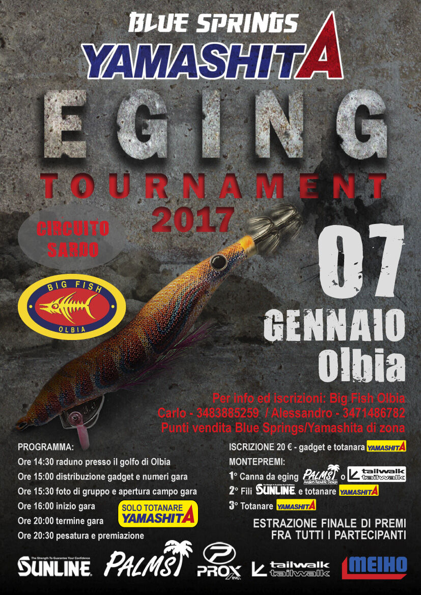 olbia eging tournament