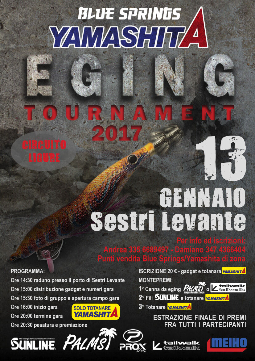 sestri levante eging tournament