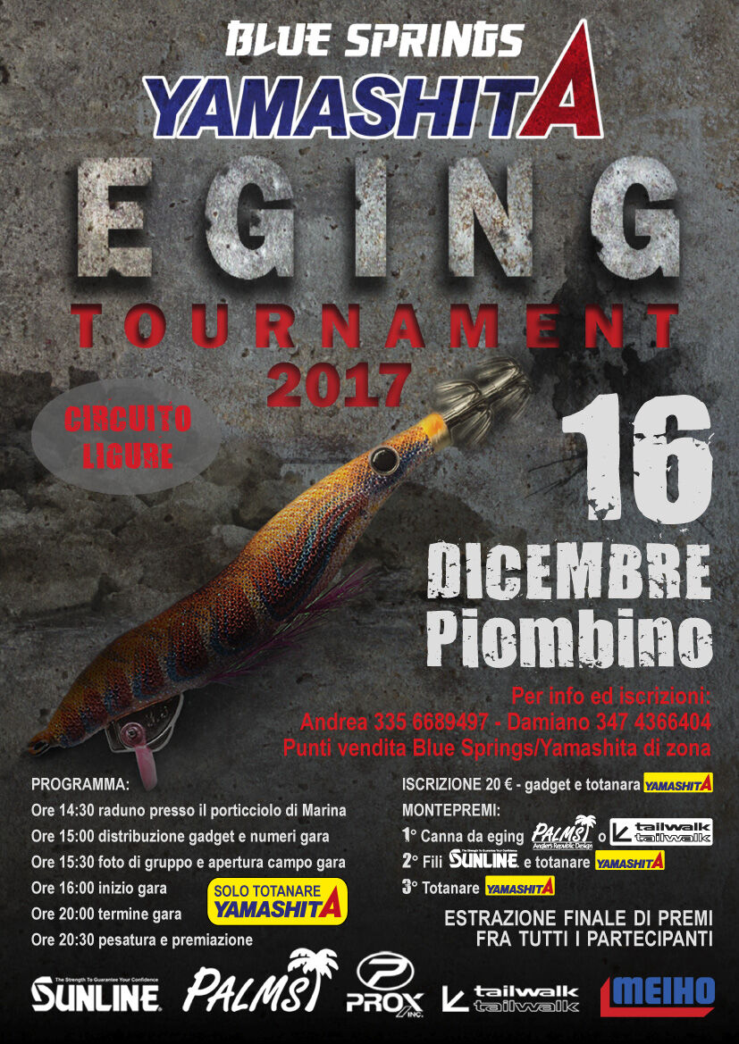 piombino livorno eging tournament
