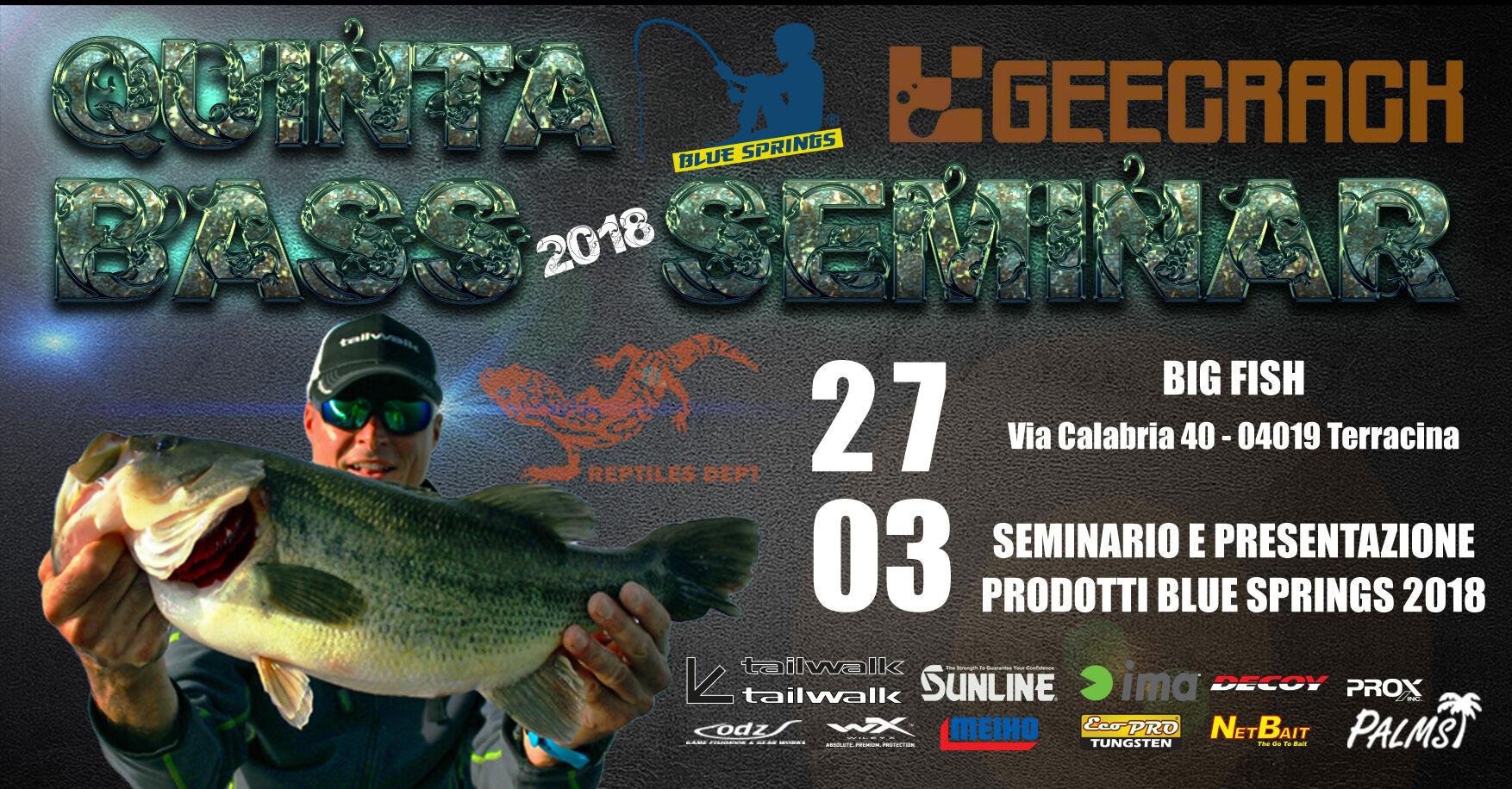 Big Fish Terracina bass seminar 18