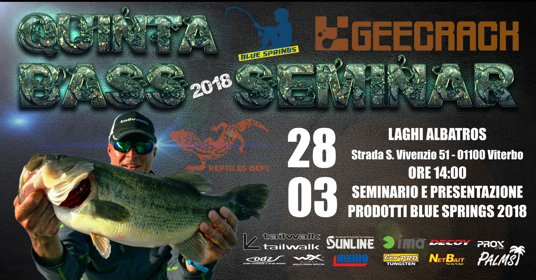 Laghi Albatros bass seminar 18