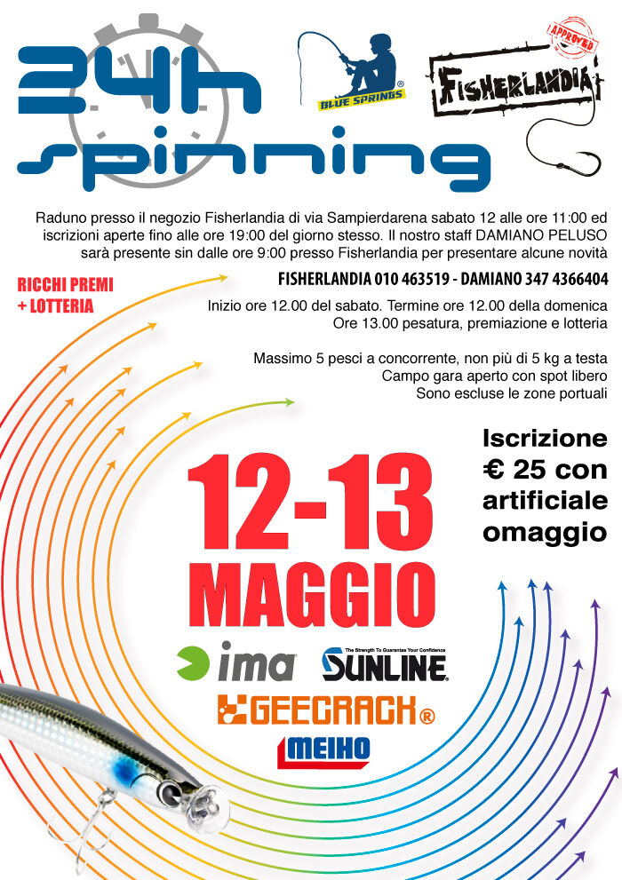 24h spinning Genova