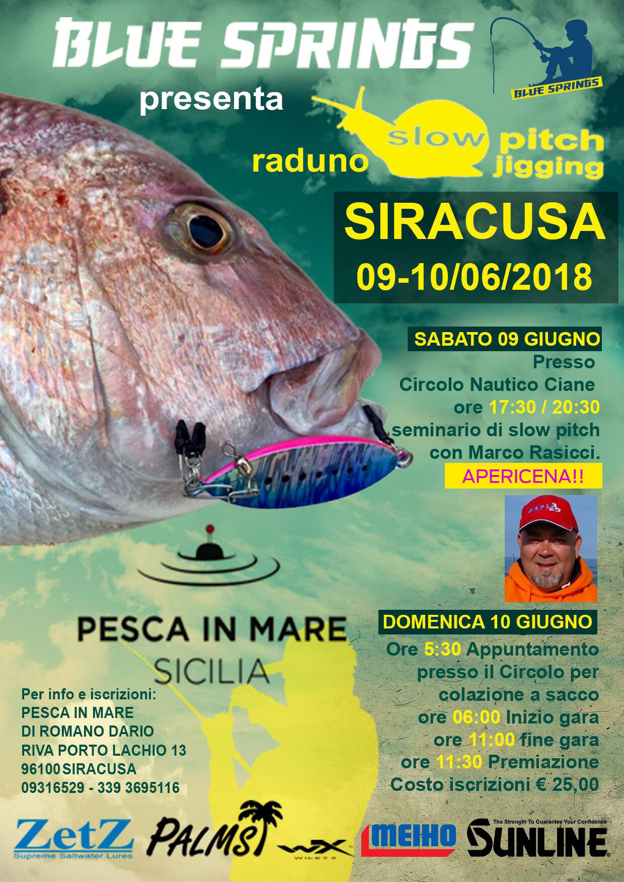 locandina slow pitch siracusa