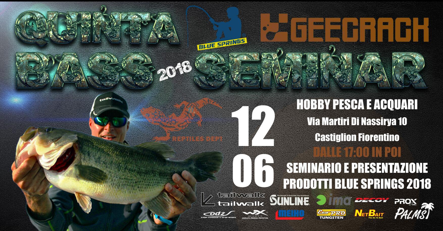 bass seminar hobby pesca e acquari