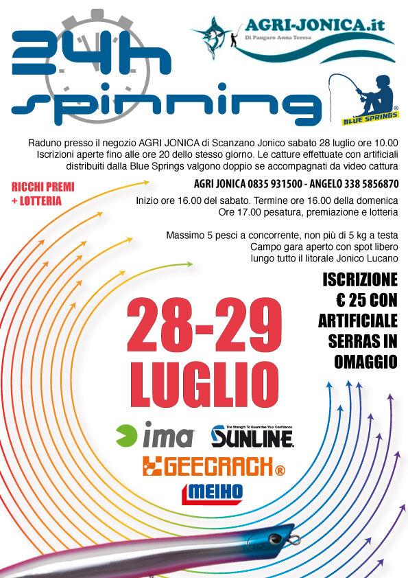 24h spinning scanzano jonico