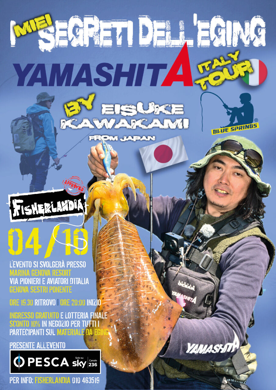 Kawakami Yamashita eging Genova