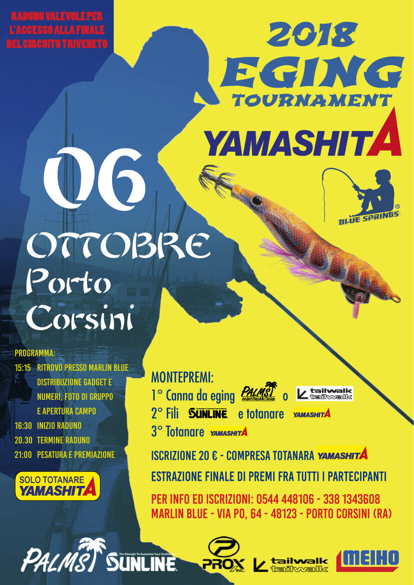 porto corsini eging tournament 2018