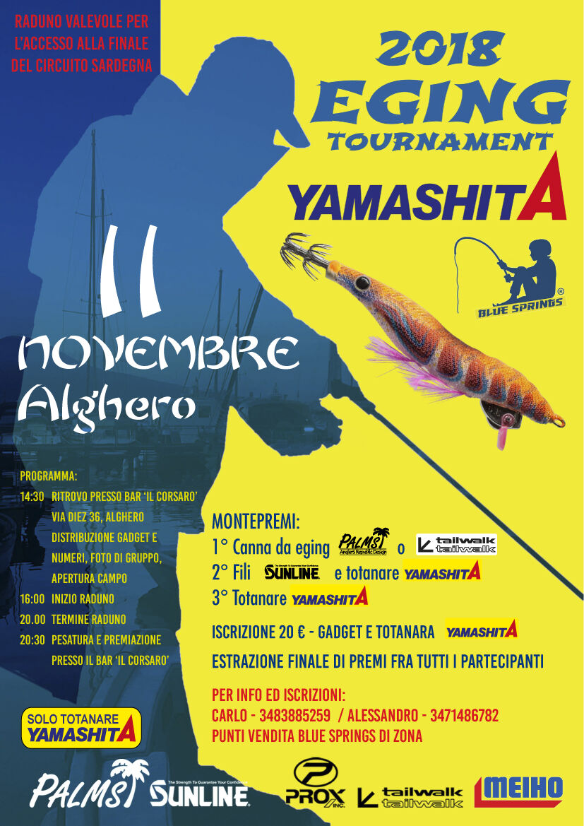 alghero eging tournament 2018