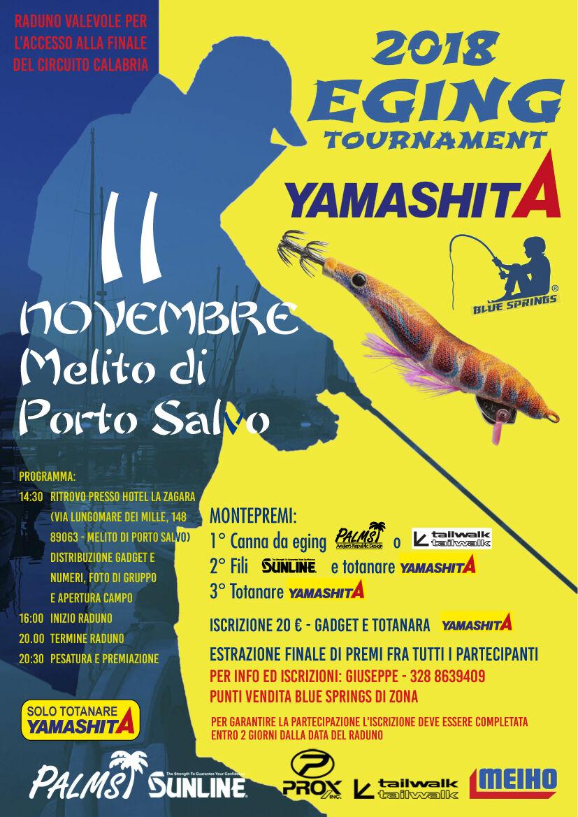 melito di porto salvo eging tournament 2018