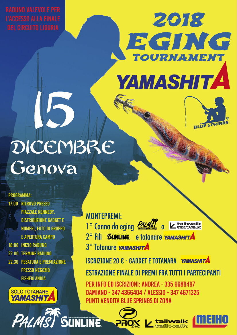 genova eging tournament