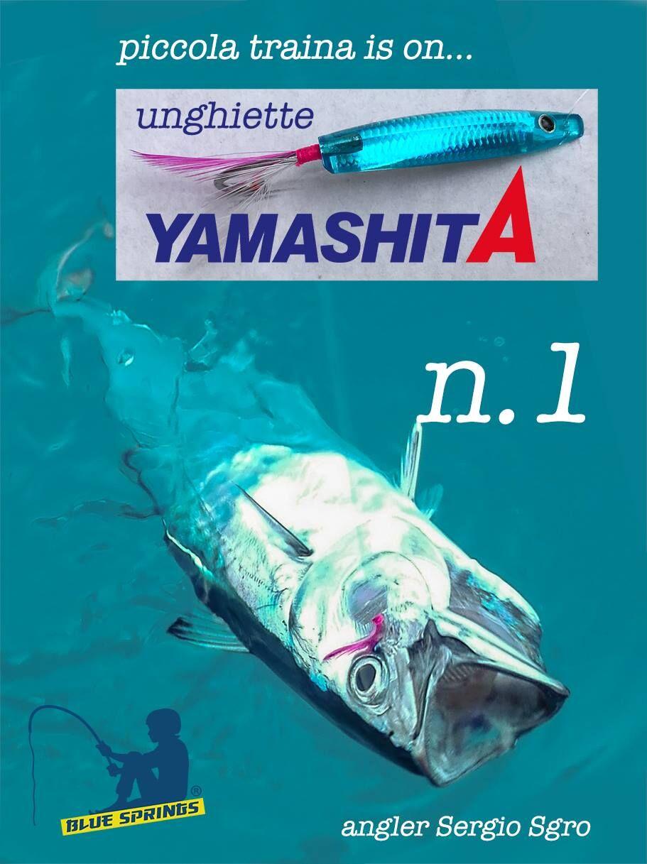 Unghiette Yamashita per traina