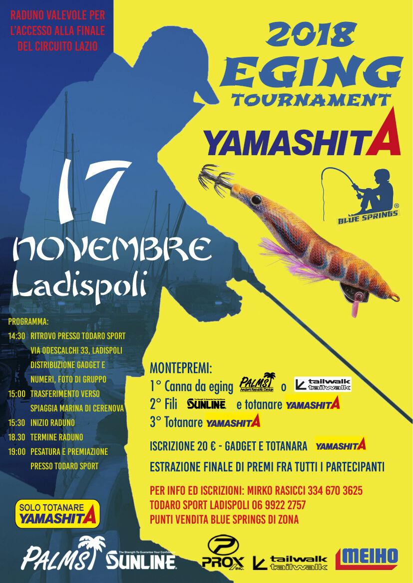 ladispoli eging tournament