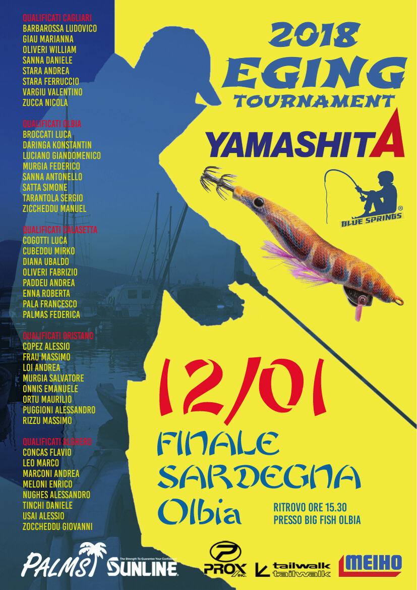 finale sardegna eging tournament 2018