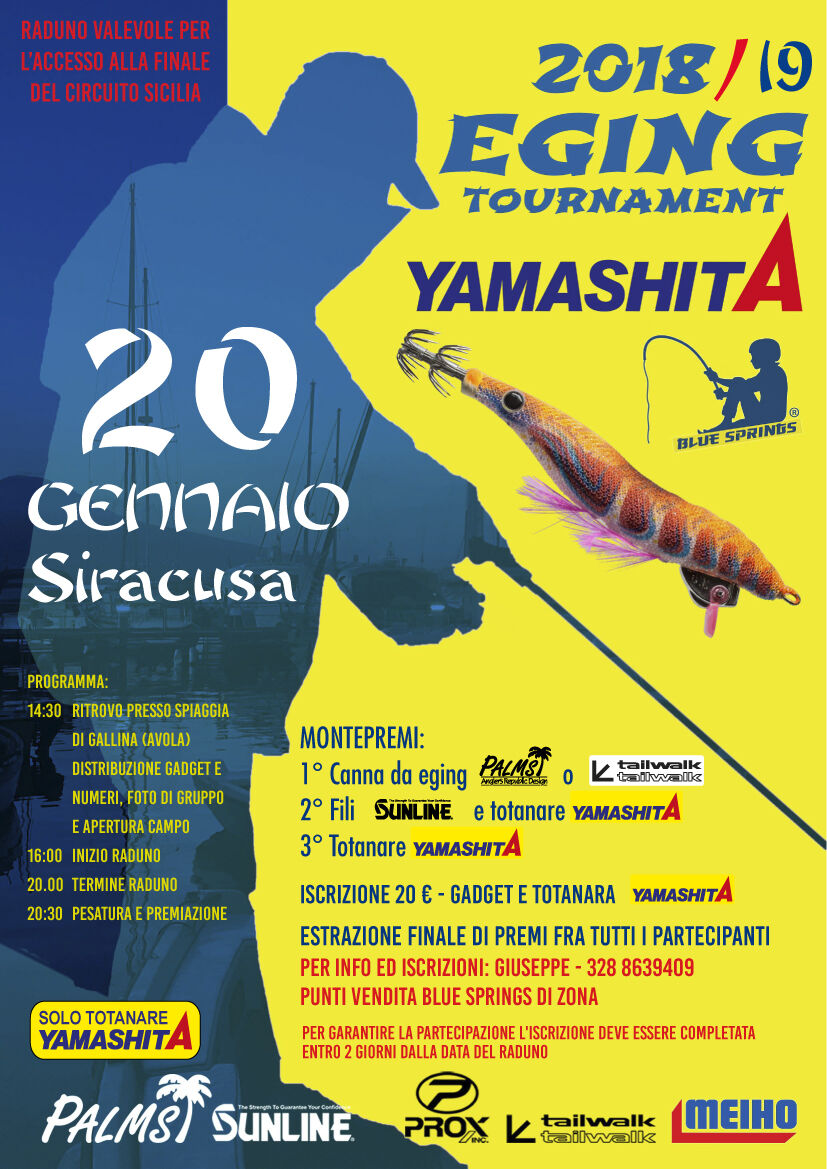siracusa eging tournament